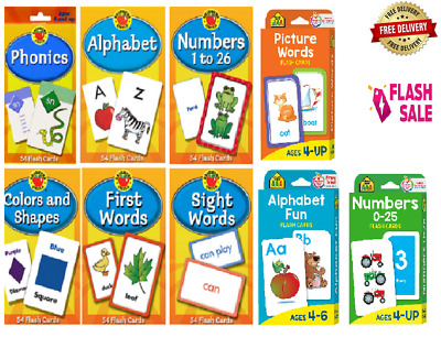 £4.49 • Buy Children's Flash Cards Kids Educational Pre School Learning Brighter Child Gift