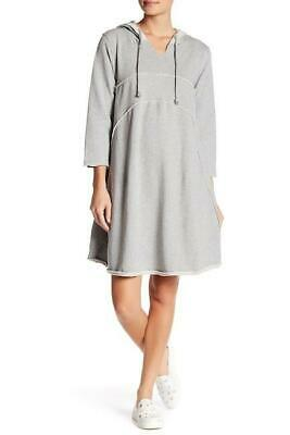 $ CDN40 • Buy Solutions Seamed Yoke Curve Hoodie Dress