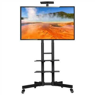 £55.99 • Buy Mobile TV Stand Home Mount Display Trolley Cart For 32 -65 Plasma/LCD/LED