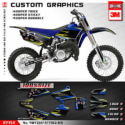 AU167.85 • Buy Motocross Graphics Sticker Kit Vinyl Decal For Yamaha YZ85 YZ 85 2015 2016 2017