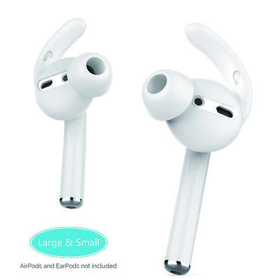 $ CDN5.88 • Buy For Airpods 2 Bluetooh Headset Ear Hook Earbuds Tips Soft Silicone Replacement