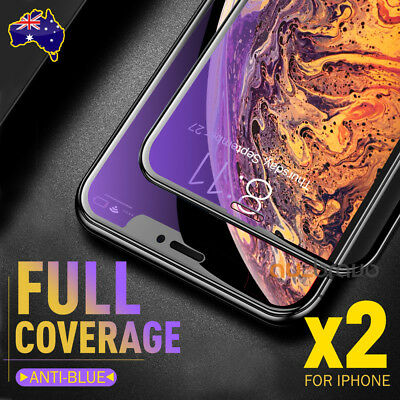 AU6.95 • Buy 2x For Apple IPhone 11 Pro XS Max XR X 6D Full Screen Protector Tempered Glass