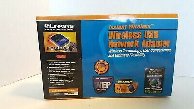 $24.95 • Buy New Linksys Wusb11 Wireless B Usb 1.0 1.1 11mbps Usb Network Wifi Adapter 98 Me