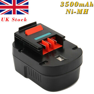 12V 3000mAh Ni-MH Battery For BLACK & DECKER A12 A12-XJ A12EX A1712 FS120B FSB12 • 18.90£