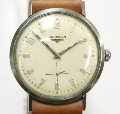$ CDN550 • Buy Longines 1200 Vintage Mens Stainless Steel Swiss Watch