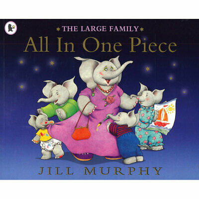 £3 • Buy The Large Family: All In One Piece By Jill Murphy (Paperback), Books, Brand New