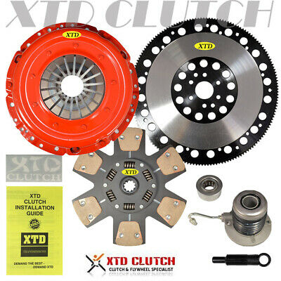 $282.99 • Buy Stage 3 Clutch & Flywheel Kit 2005 2006 2007 2008 2009 2010 Mustang Gt Bullitt