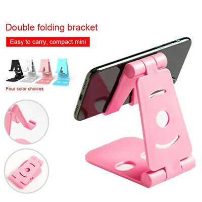 $4.99 • Buy Universal Foldable Desktop Desk Stand Holder Mount For Cell Phone And Tablet Pad