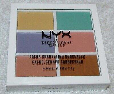 $5.70 • Buy NYX Color Correcting Concealer Palette ~ 3CP04 Factory Sealed NEW