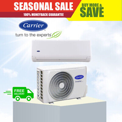 AU1969 • Buy CARRIER 9.2kW Cool 9.8kW Air Conditioner - 5 Year Warranty - Split System