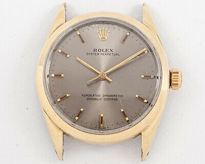 $ CDN2508.79 • Buy Vintage 1967 RARE Rolex Gold Shell Oyster Perpetual Ref. 1024 Out Of An Estate!