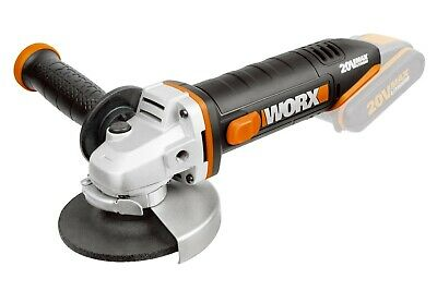 AU99.95 • Buy WORX 20V 115mm Angle Grinder (Battery & Charger Sold Seperately)