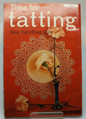 £5.99 • Buy Vintage Tatting Lace Book. Time For Tatting. Coats Booklet