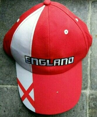 England Euro 2021 Football Supporters Adult Cap Hat Rugby Cricket Christmas Gift • 5.88£
