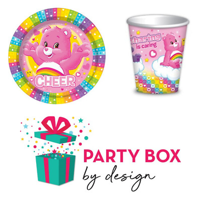 Care Bears Paper Plates And Cups • 15£