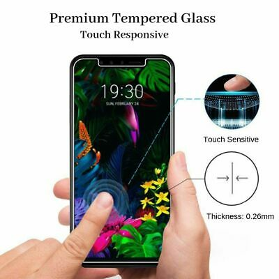 AU6.95 • Buy 9H Super Strong PREMIUM Tempered Glass Screen Protector For LG G8S G8 ThinQ  AU