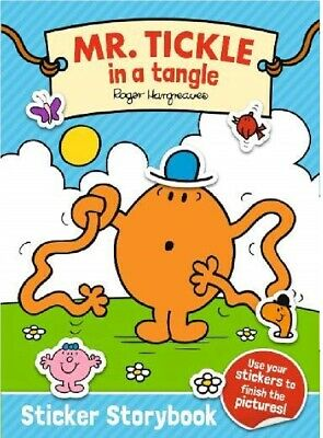 £3.95 • Buy NEW  MR MEN  MR TICKLE IN  A TANGLE STICKER STORYBOOK Stickers