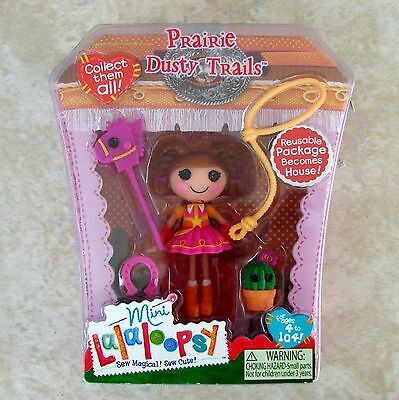 $19.90 • Buy Prairie Dusty Trails Mini Lalaloopsy Doll New #7 Series 6 Retired MGA Toy
