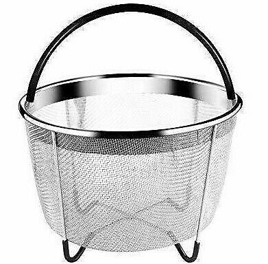$9.99 • Buy High-Quality KitchenHYPE Steamer Basket 6 Quart For Instant Pot Accessories