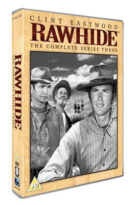 £11.45 • Buy Rawhide: The Complete Series Three DVD (2016) Clint Eastwood Cert PG 8 Discs