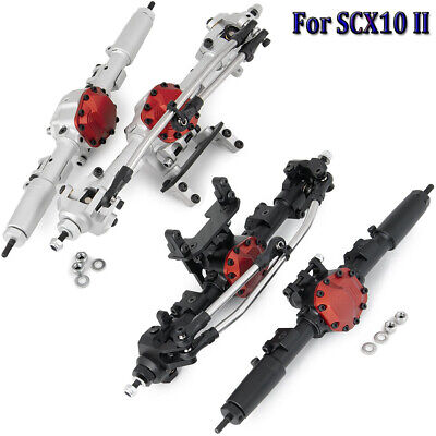 £74.99 • Buy Metal Complete Front Rear Axle For 1:10 RC Crawler AXIAL SCX10 II AX90046 90047