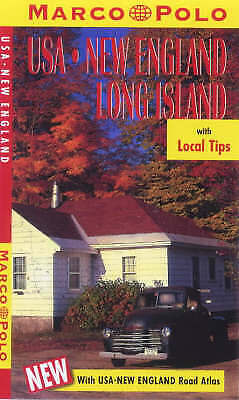 (Good)-United States Of America: New England/Long Island (Marco Polo Travel Guid • 3.11£