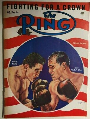 $13.99 • Buy THE RING Vintage Boxing Magazine July 1953