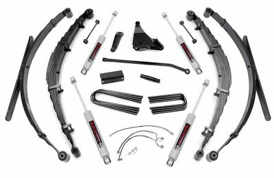 $1399.95 • Buy Rough Country 8  Lift Kit (fits) 1999-2004 Ford Super Duty F250 F350 4WD
