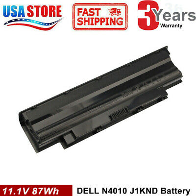 $13.95 • Buy 6/9 Cell For Dell J1KND Inspiron N5050 N4010 M5030 M5040 Battery 04YRJH