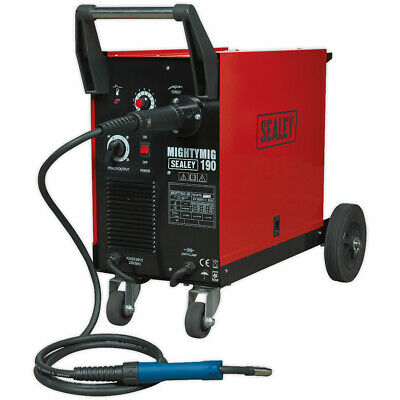 Sealey MIGHTYMIG190 Professional Gas/No-Gas MIG Welder 190Amp With Euro Torch • 447£