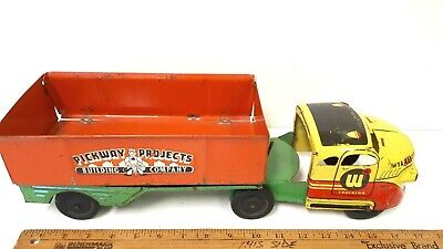 $ CDN165 • Buy 1940's WYANDOTTE Side Dump Truck -  Pickway Projects  - All Original Condition