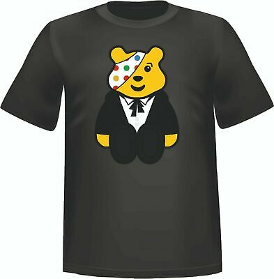 Children In Need T-Shirts In Spotted, Bear Pudsey Tee 15% BBC Charity Sale • 7.50£