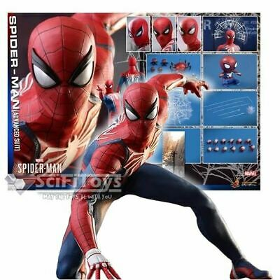 $ CDN569.70 • Buy 1/6 Spider-Man Video Game 2018 Spider Man Advanced Suit Figure VGM31 Hot Toys