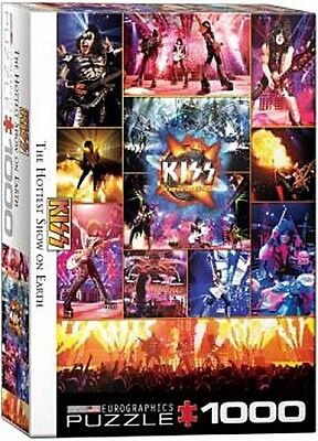 £16.99 • Buy Kiss The Hottest Show On Earth 1000 Piece Jigsaw Puzzle 680mm X 490mm (pz)