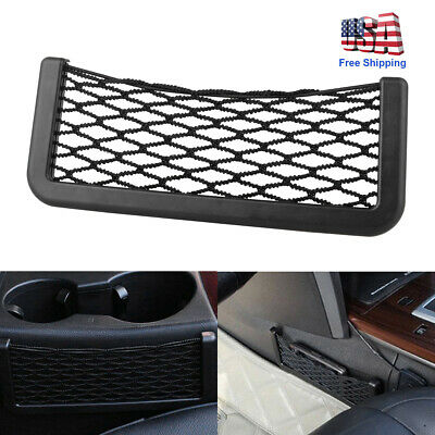$5.51 • Buy 1x Auto SUV Car Interior Body Edge Elastic Net Storage Phone Holder Accessories