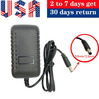 18V 2A 2000mA Power Supply Adapter Charger Cord 5.5mmx2.1mm/2.5mm AC/DC 100-240V • 8.99$