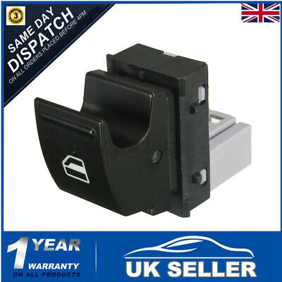 £7.29 • Buy Electric Window Double Switch Driver Side For VW Transporter T5 T6 Caravelle  >
