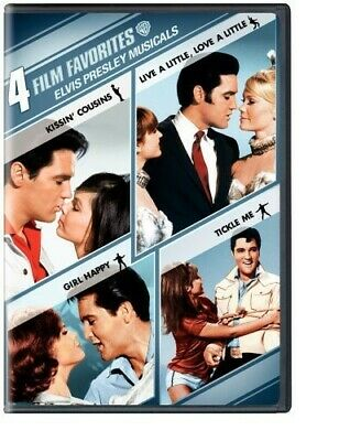 4 Film Favorites: Elvis Presley Musicals DVD Incredible Value And Free Shipping! • 24.98£