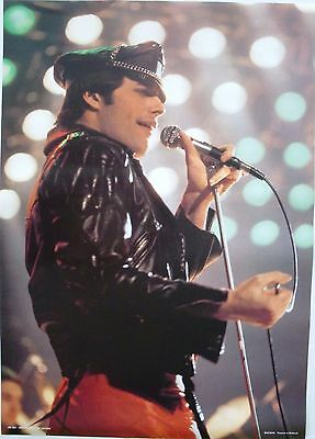 $65.99 • Buy QUEEN  FREDDIE MERCURY IN CONCERT  POSTER, FROM EARLY 1980's PRINTED IN HOLLAND