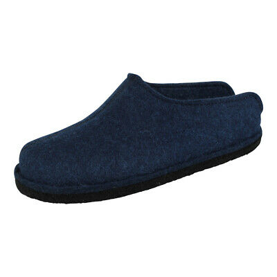 Haflinger Unisex Slippers Mules Shoes Slippers Flair Smily Jeans (Blue) • 36.36£
