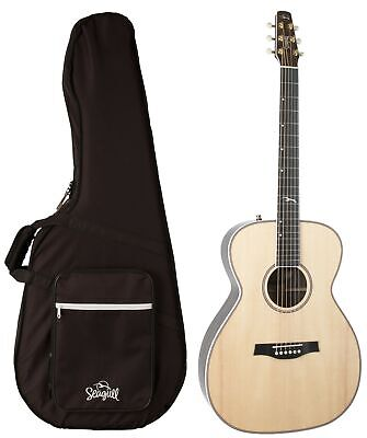 $1450 • Buy Seagull Guitars 047772 Artist Studio CH HG Natural EQ Acoustic Electric Guitar