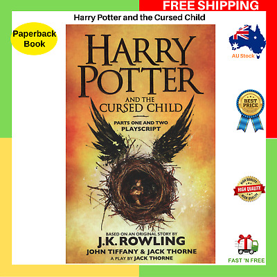 AU17.99 • Buy Harry Potter And The Cursed Child Parts One And Two Paperback Book BRAND NEW AU