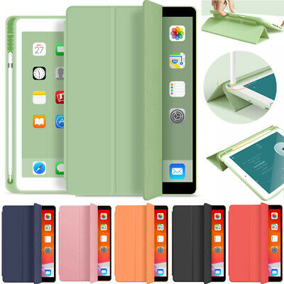 AU30.89 • Buy AU For IPad 10.2  7th Gen 2019 6th 5th Pro Leather Case Cover With Pencil Holder