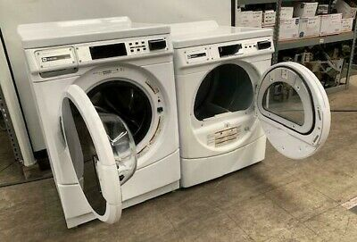 $850 • Buy Maytag Commercial Front Load Washer/Dryer *PAIR* DOUBLE LOAD, OPL [USED]