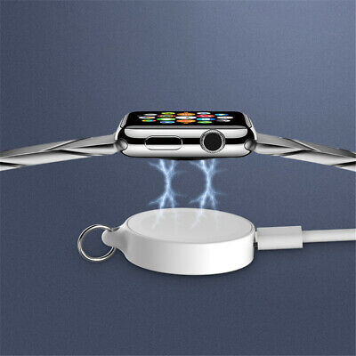 $ CDN6.67 • Buy Wireless Watch Charger Micro USB For Apple Watch IWatch Series 5/4/3/2/1 White