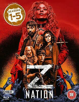 AU92.95 • Buy Z Nation The Complete Season Series 1, 2, 3, 4 & 5 Blu Ray Box Set RB