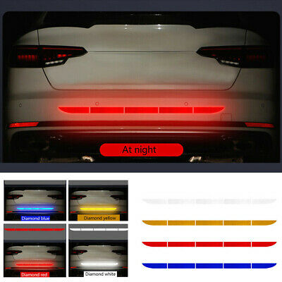 AU5.72 • Buy 1X Car Truck Reflective Warning Decal Reflector Safety Strip Stickers Tape Decor