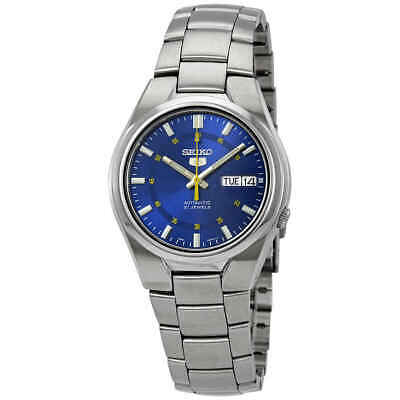 $ CDN118.35 • Buy Seiko Series 5 Automatic Blue Dial Men's Watch SNK615