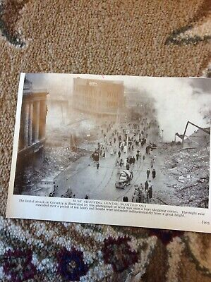 £2.25 • Buy A2i Ephemera Ww2 Picture Coventry City Centre After The Blitz