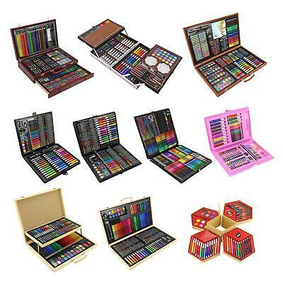 £19.95 • Buy Childrens/Adults Professional Artists Art Sets Creative Studio Colouring Crafts